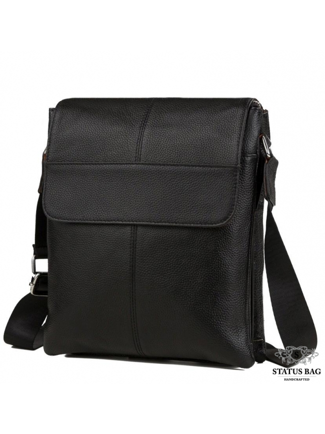 Сумка через плечо мужская кожаная Tiding Bag A25-064A