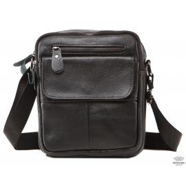 Мужская кожаная сумка через плечо маленькая Tiding Bag A25-1108A