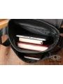 Мужская качественная кожаная сумка через плечо Tiding Bag A25-1278A фото №8