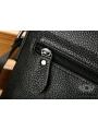 Мужская качественная кожаная сумка через плечо Tiding Bag A25-1278A фото №6