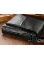 Мужская качественная кожаная сумка через плечо Tiding Bag A25-1278A фото №4