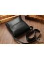 Мужская качественная кожаная сумка через плечо Tiding Bag A25-1278A фото №11