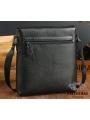 Мужская качественная кожаная сумка через плечо Tiding Bag A25-1278A фото №10