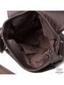 Сумка через плечо мужская кожаная коричневая Tiding Bag A25-1278C фото №8