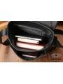 Сумка через плечо мужская кожаная коричневая Tiding Bag A25-1278C фото №7
