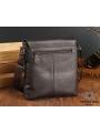 Сумка через плечо мужская кожаная коричневая Tiding Bag A25-1278C фото №3
