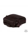 Вместительная барсетка через плечо из натуральной кожи Tiding Bag A25-2158C фото №4