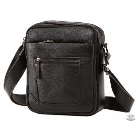 Мужская кожаная сумка через плечо маленькая Tiding Bag A25-223A