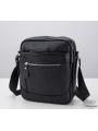 Мужская кожаная сумка через плечо маленькая Tiding Bag A25-223A фото №6