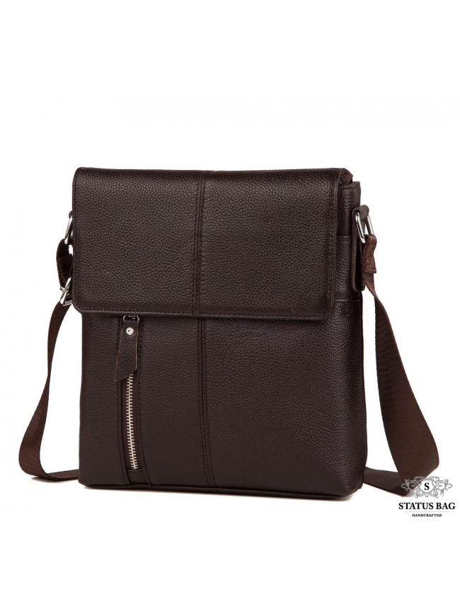 Мужская кожаная сумка на каждый день Tiding Bag A25-238C