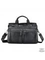 Офисная мужская кожаная сумка для ноутбука и документов Bexhill A25-7122A