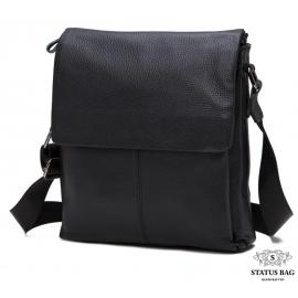 Мужской кожаный мессенджер телячья кожа Tiding Bag A25-8871A