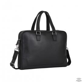 Классическая мужская деловая сумка из натуральной кожи Tiding Bag A25-9905A