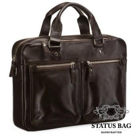 Мужская кожаная сумка для ноутбука и документов Blamont Bn001C