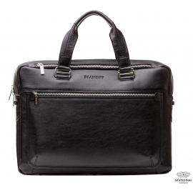 Мужская кожаная сумка делового стиля под ноутбук Blamont Bn005A