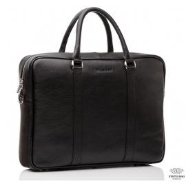 Сумка-портфель мужская в деловом стиле кожаная Blamont Bn022A