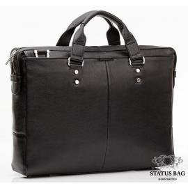 Деловая мужская кожаная сумка для документов и ноутбука 15 дюймов Blamont Bn025A