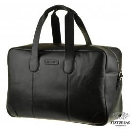 Дорожная мужская кожаная сумка с длиными ручками Blamont Bn028A