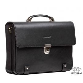 Портфель мужской классический с отделом для ноутбука кожа флотар Blamont Bn044A