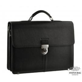 Элитный мужской кожаный портфель под документы Blamont Bn047A