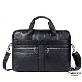 Мужская кожаная сумка для документов и ноутбука Bexhill Bx1120A