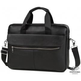 Каркасная мужская сумка из кожи Bexhill Bx1127A