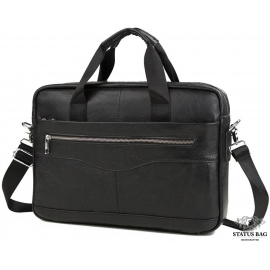 Мужская кожаная сумка для документов и ноутбука Bexhill Bx1128A
