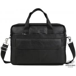 Деловая сумка мужская кожаная для документов и ноутбука Bexhill Bx1131A-1
