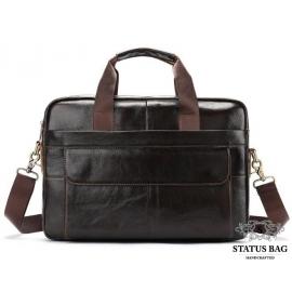 Мужская кожаная сумка для ноутбука и документов Bexhill Bx1131C