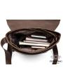 Большая мужская сумка через плечо из натуральной кожи Bexhill Bx1292C фото №12