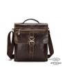 Большая мужская сумка через плечо из натуральной кожи Bexhill Bx1292C фото №4