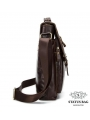 Большая мужская сумка через плечо из натуральной кожи Bexhill Bx1292C фото №6