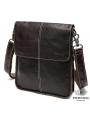 Мужская кожаная сумка чреез плечо мессенджер Bexhill BX8005C фото №2