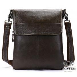 Удобная сумка через плечо мужская кожаная Bexhill BX8008C