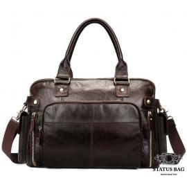 Мужская кожаная дорожная сумка Bexhill Bx8535C