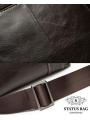 Сумка через плечо мужская глянцевая кожа Bexhill BX9010C фото №5