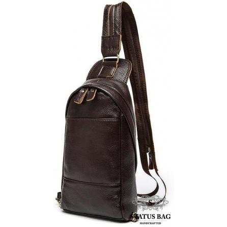 Сумка-слинг коричневая BEXHILL BX9106C