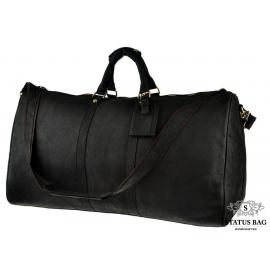 Вместительная дорожная мужская кожаная сумка прочная BEXHILL G3264
