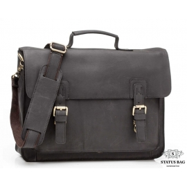 Мужской кожаный портфель TIDING BAG G8870A