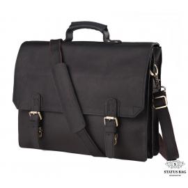 Мужской кожаный портфель TIDING BAG GA2095A