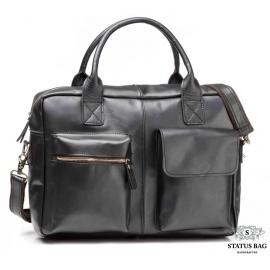 Мужская кожаная сумка TIDING BAG GB331A