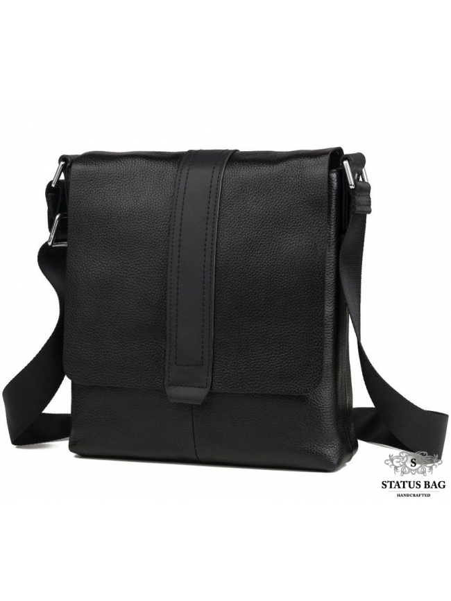 Мужская сумка-кроссбоди из натуральной кожи Tiding Bag M2837A