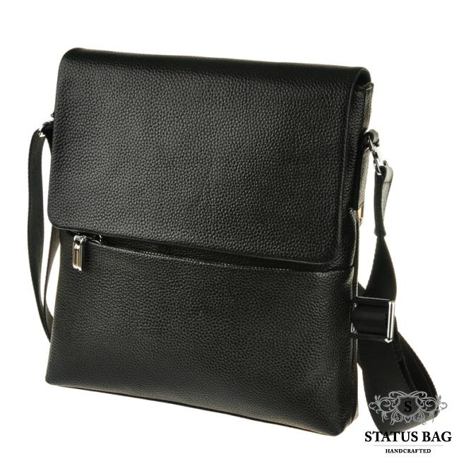 Мужская сумка на плечо натуральная кожа TIDING BAG M2993A