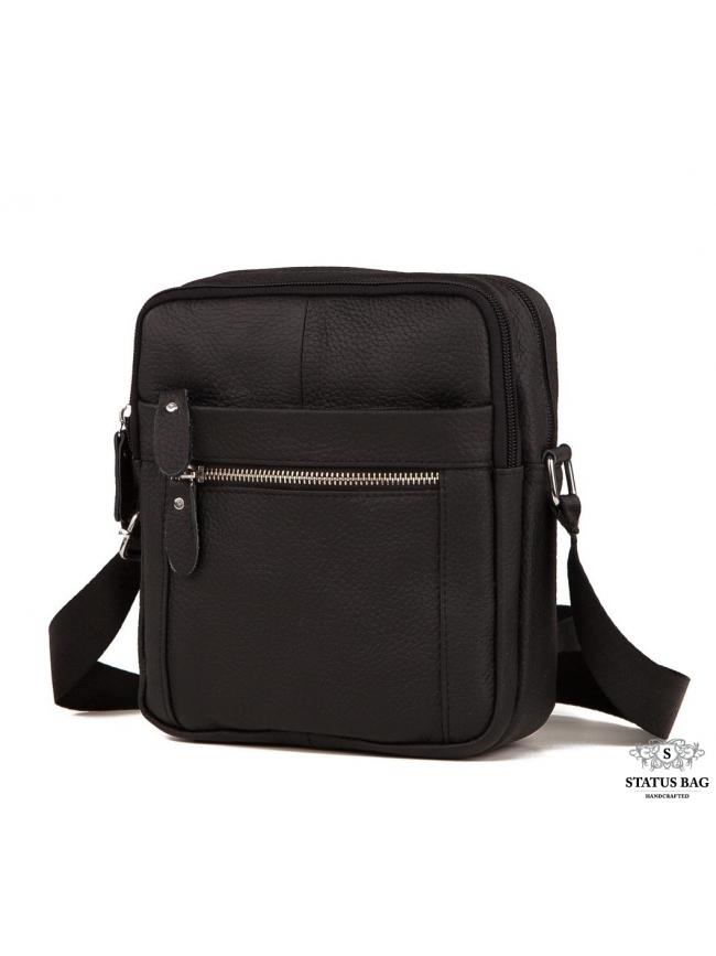 Мужская сумка через плечо кожа Tiding Bag M38-3922A