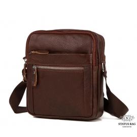 Мужская сумка на плечо натуральная кожа Tiding Bag M38-3922C