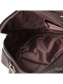 Мужской кожаный мессенджер через плечо коричневый Tiding Bag M38-5112C фото №5
