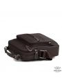 Мужской кожаный мессенджер через плечо коричневый Tiding Bag M38-5112C фото №3