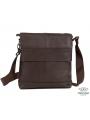 Мессенджер через плечо мужской кожаный Tiding Bag M38-8136C фото №4