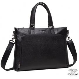 Мужская повседневная сумка зернистая натуральная кожа Tiding Bag M38-9177-2A