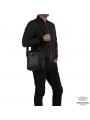Барсетка мужская кожаная через плечо Tiding Bag M5608-1A фото №10